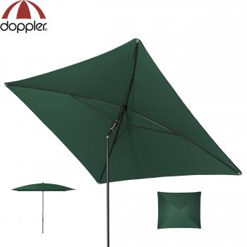 Doppler Schirm Sunline 230x190cm WATERPROOF dunkelgrün