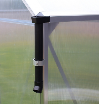 Regenfallrohr-Set aus PVC für Pontos/ Triton/ Eos (Paar)