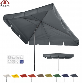 Doppler Schirm SUNLINE 260x150cm WATERPROOF