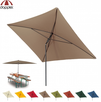 Doppler Schirm SUNLINE 230x190cm WATERPROOF