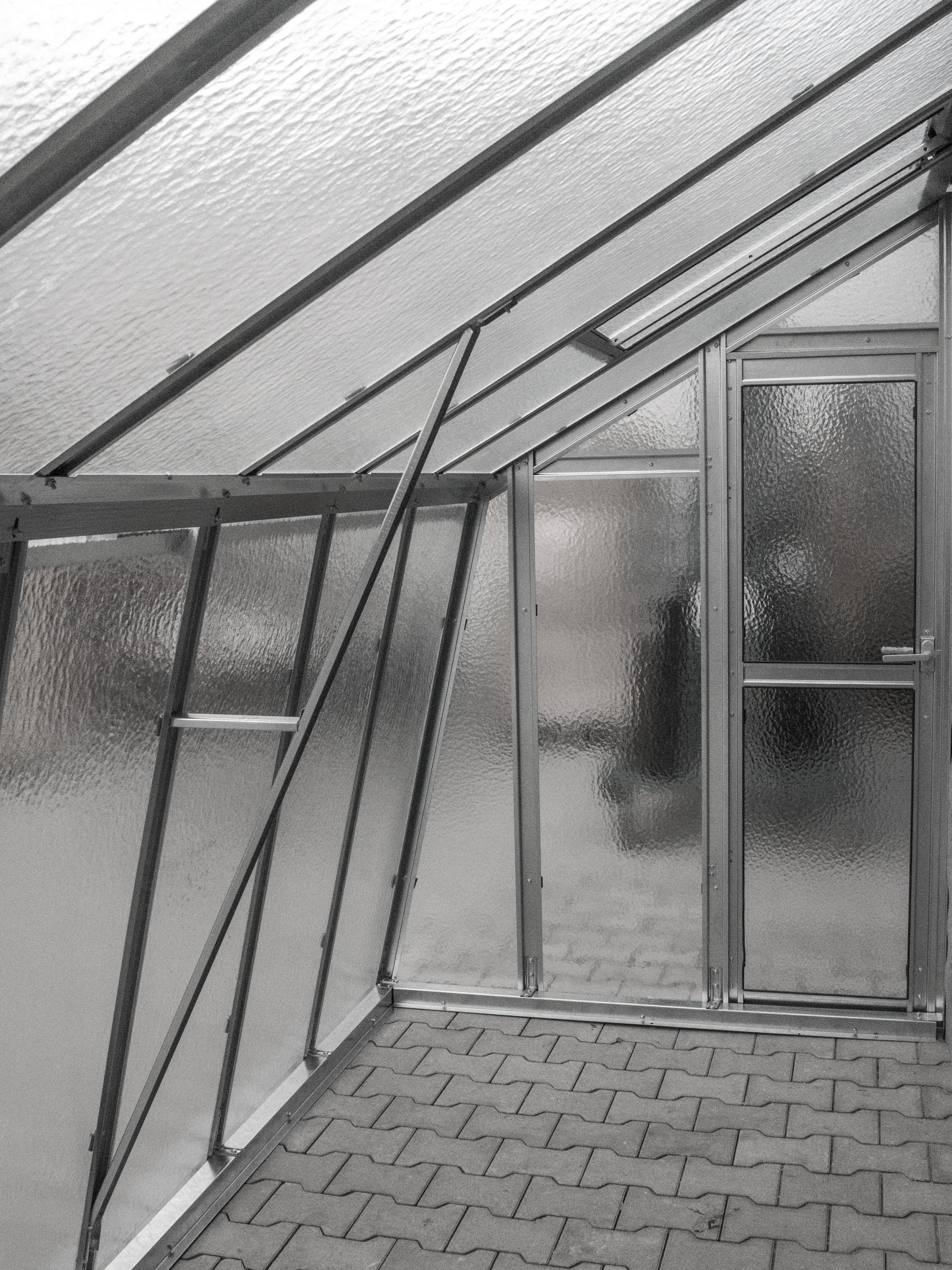 Gartenshop Hartmann Vario Stahl Anlehngewächshaus Casa 6 Bxt